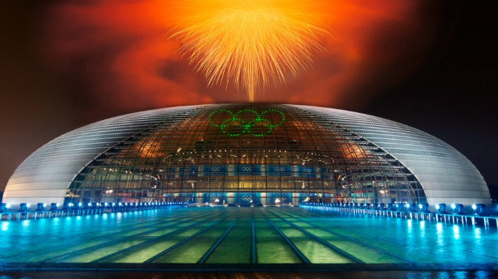 1. The National Grand Theater in Beijing, China