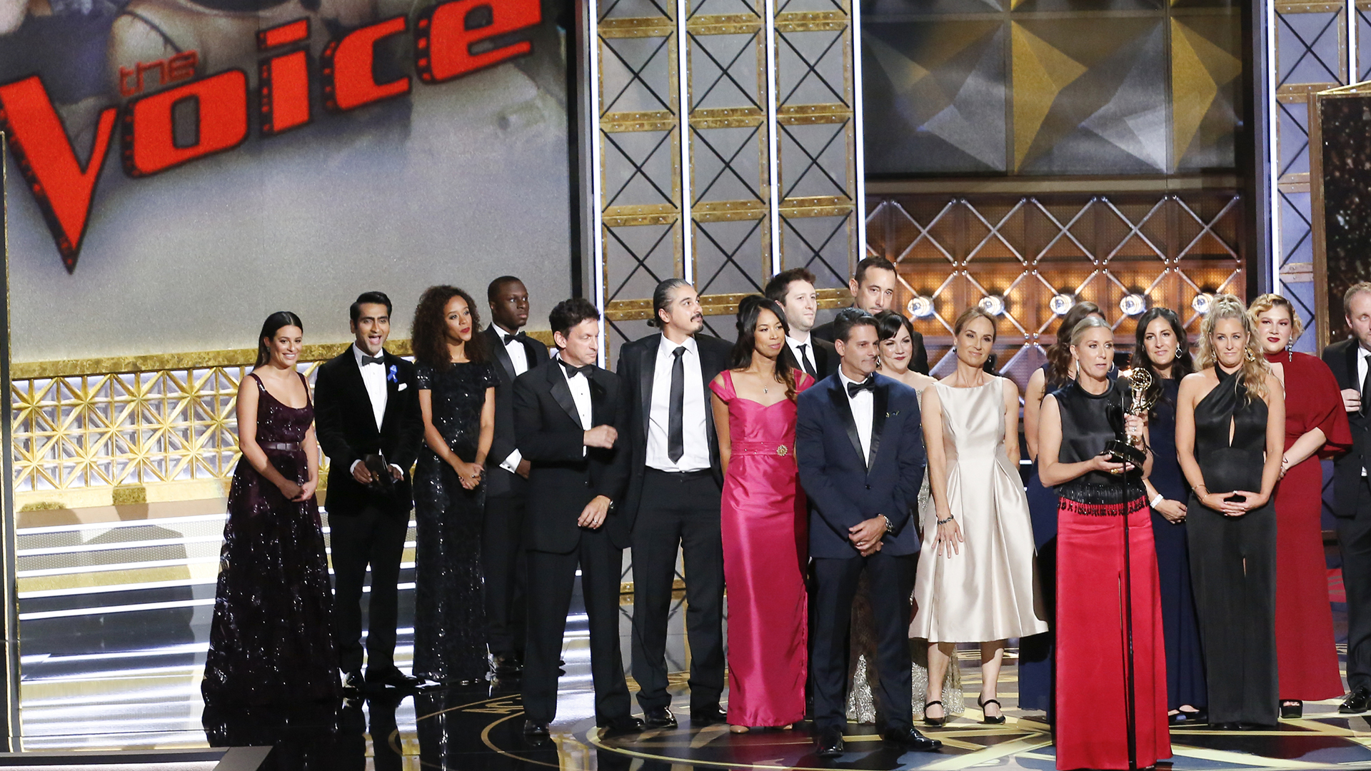 The Voice wins Outstanding Reality-Competition Program at The 69th Emmy Awards.