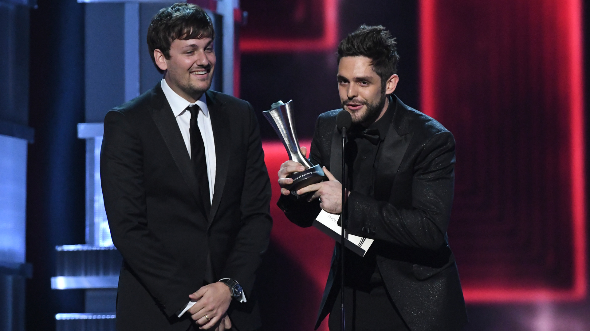 Thomas Rhett wins Song Of The Year at the 52nd ACM Awards