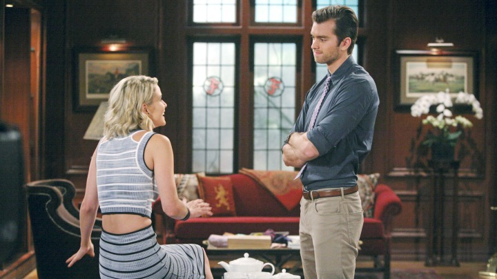 Thomas struggles to hold back his feelings for Caroline.