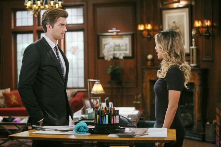 Thomas reacts to Steffy's newest suitor.