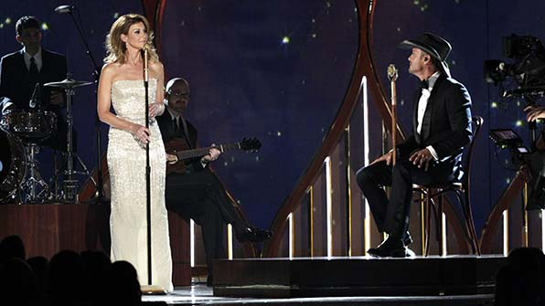 This is the fifth time that Tim McGraw and Faith Hill have received a nomination for Vocal Event of the Year together.