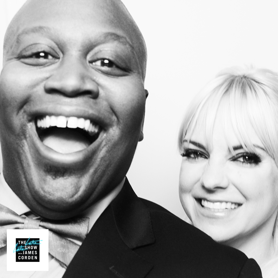 Tituss Burgess and Anna Faris