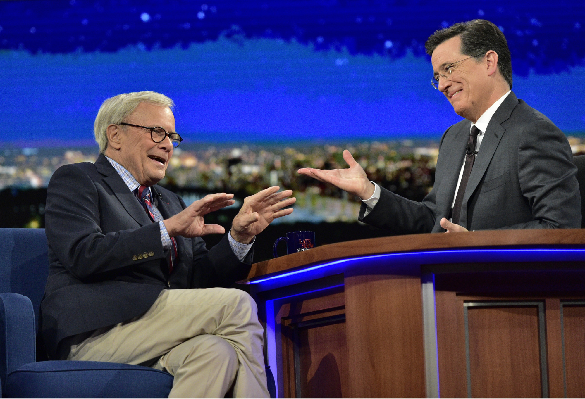 Tom Brokaw Will One-Up Your Fishing Story