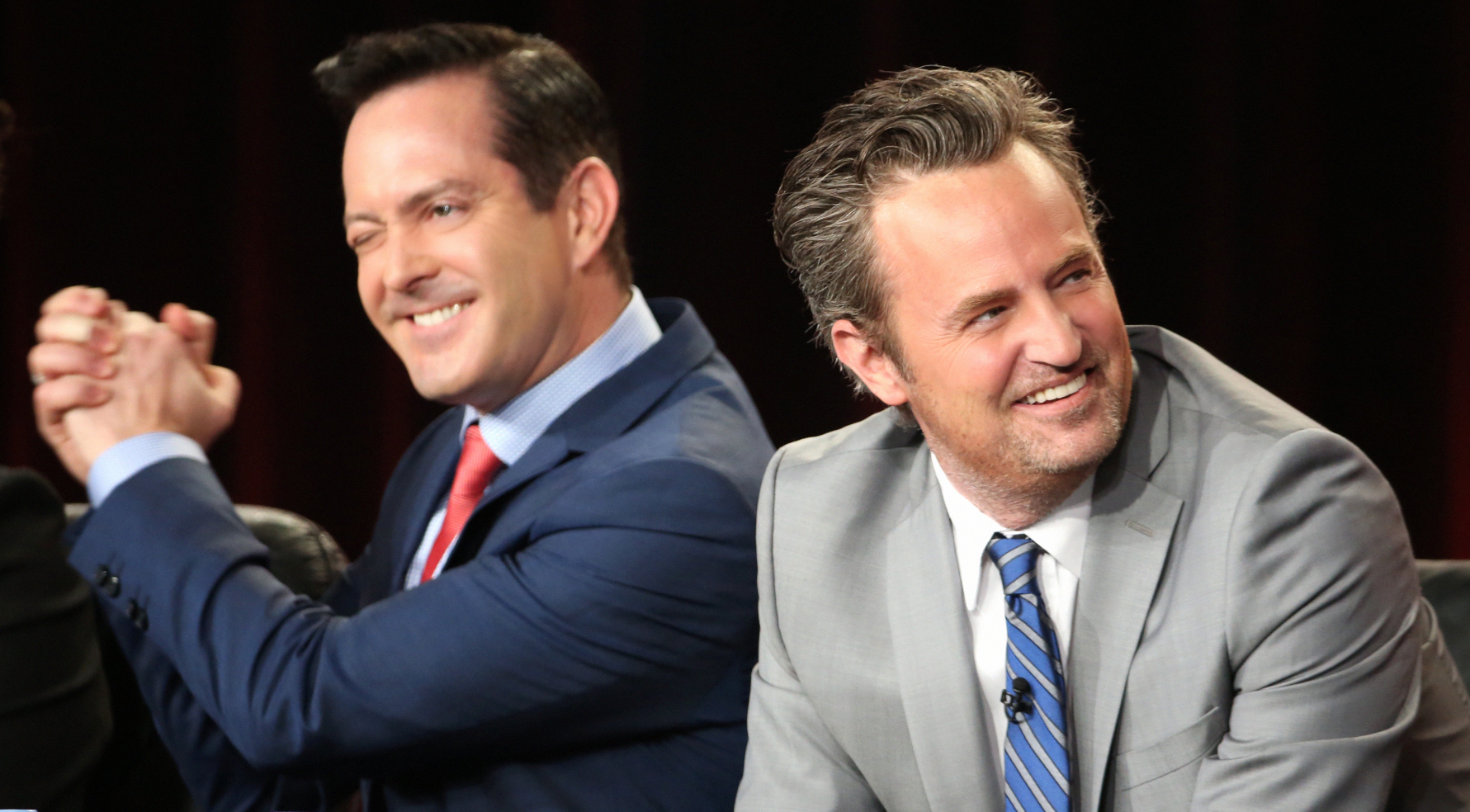 Your burning questions answered by Thomas Lennon and Matthew Perry