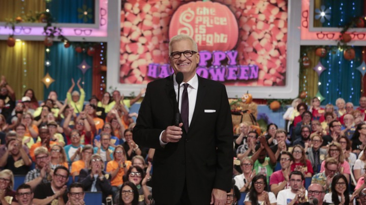 Drew Carey didn't need to dress up this Halloween!