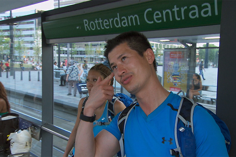 4. Low: When Rick thought Rotterdam and Amsterdam were the same place.