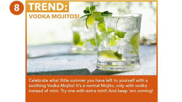 Vodka Mojitos!
