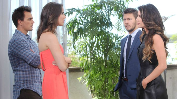 Ivy deletes the footage of Steffy, and they make amends.