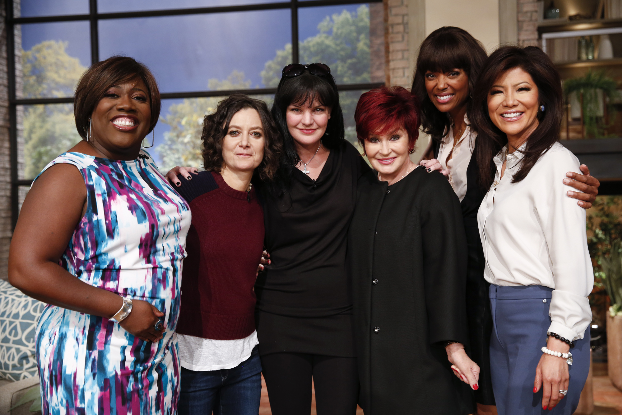 3. Talking NCIS with Pauley Perrette.