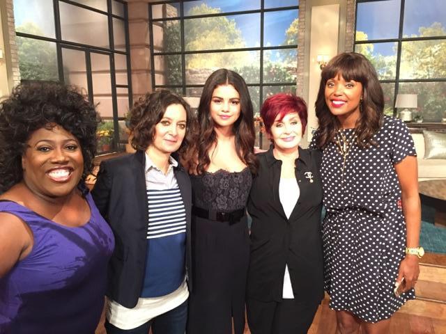 8. Spending time with Selena Gomez.