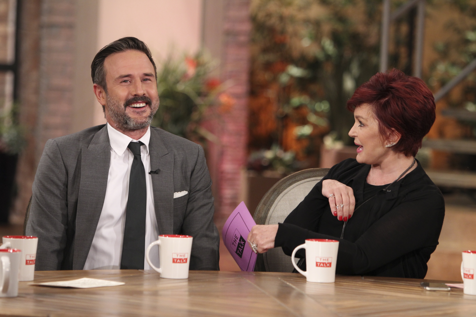 6. David Arquette sharing his proposal story.