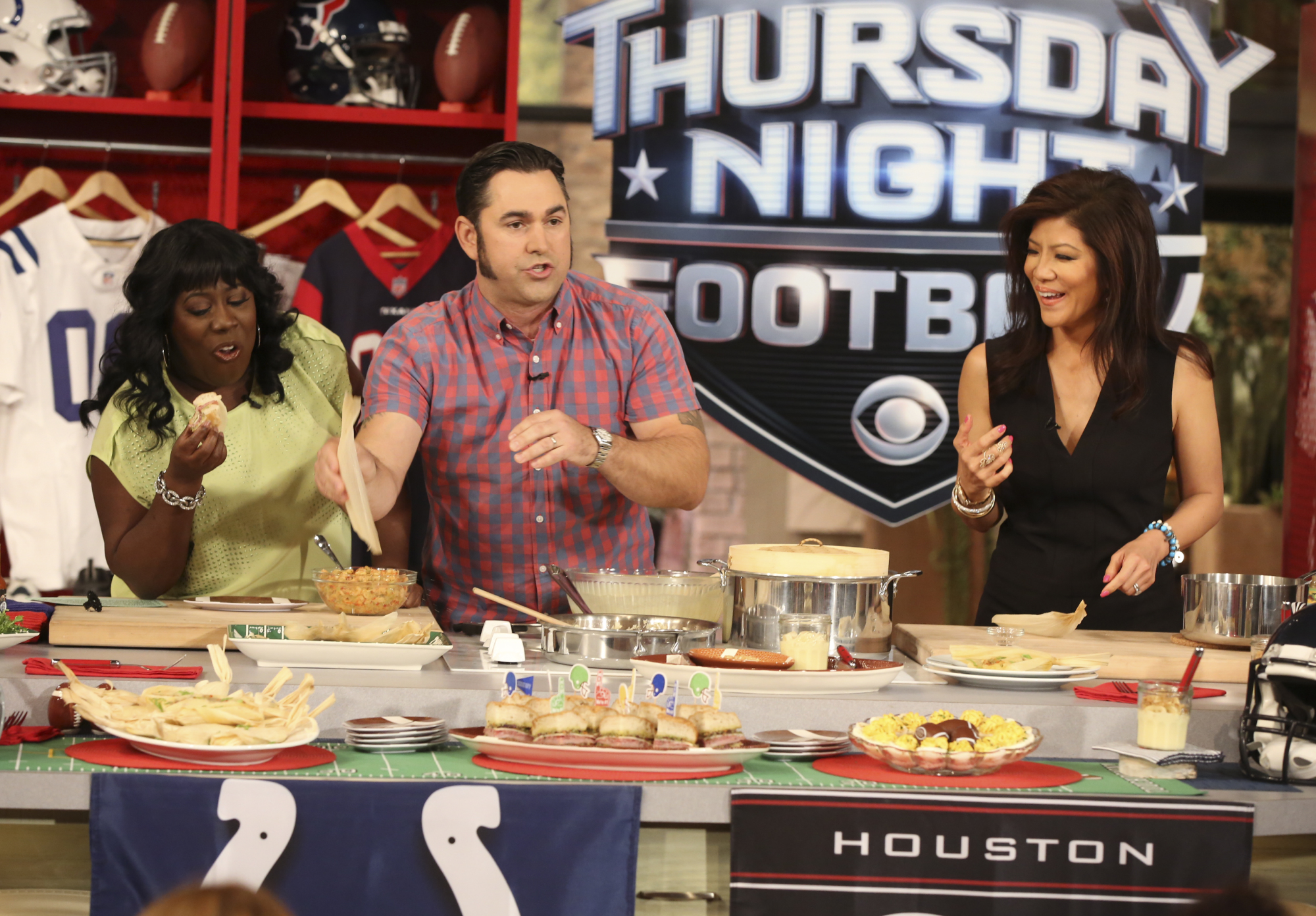 9. Tailgating with Chef David Guas.