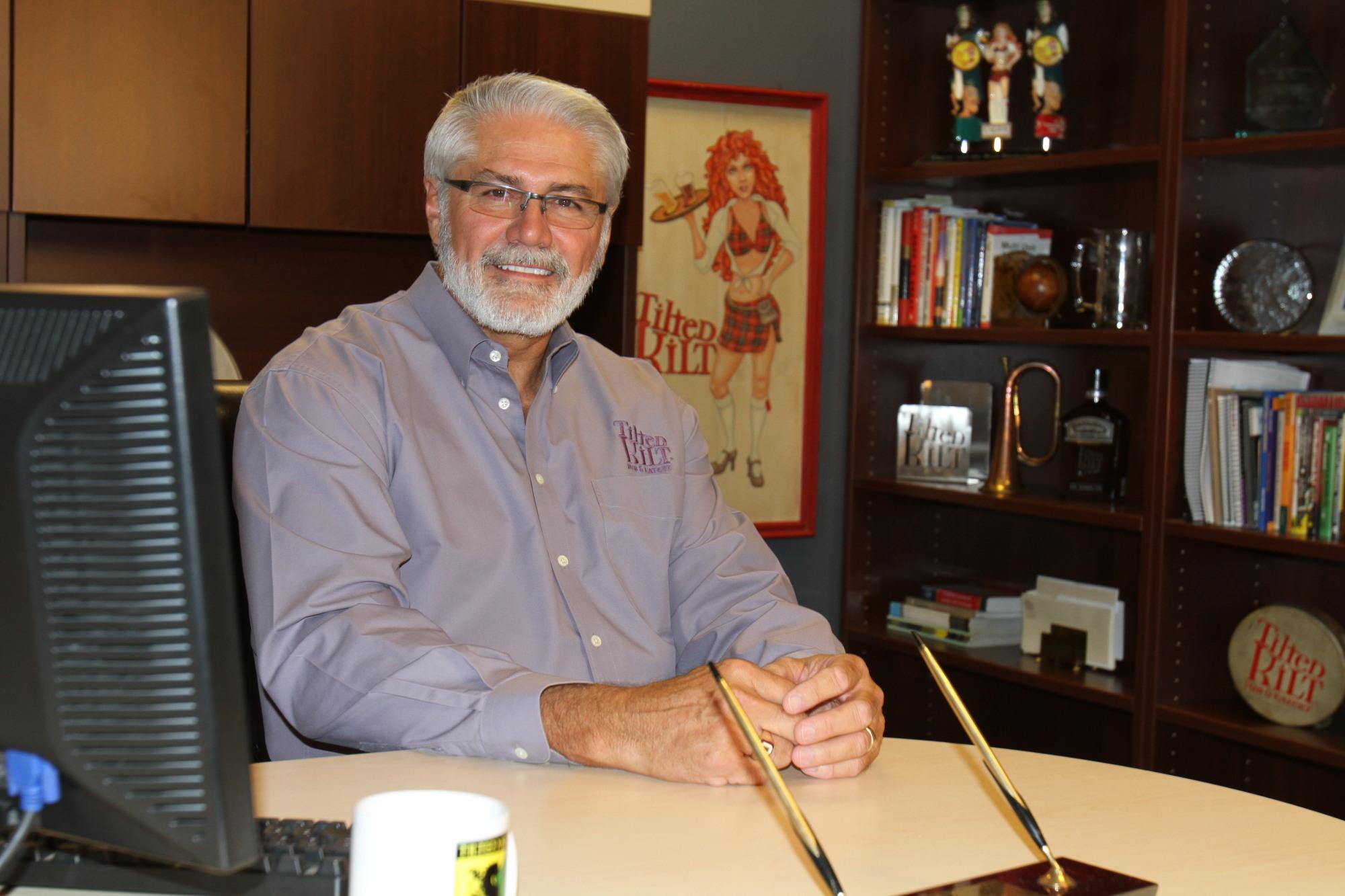 Ron Lynch, President of Tilted Kilt