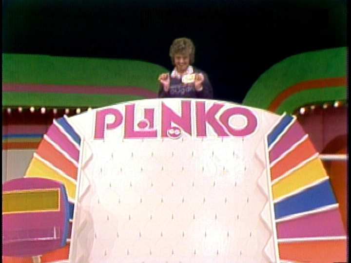 First Plinko Contestant