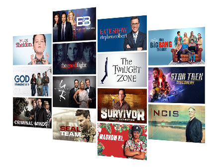 CBS All Access - 10,000 Episodes On Demand