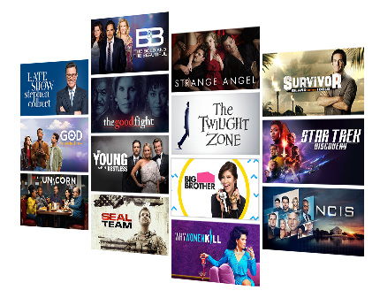 CBS All Access - 8,500+ Episodes On Demand