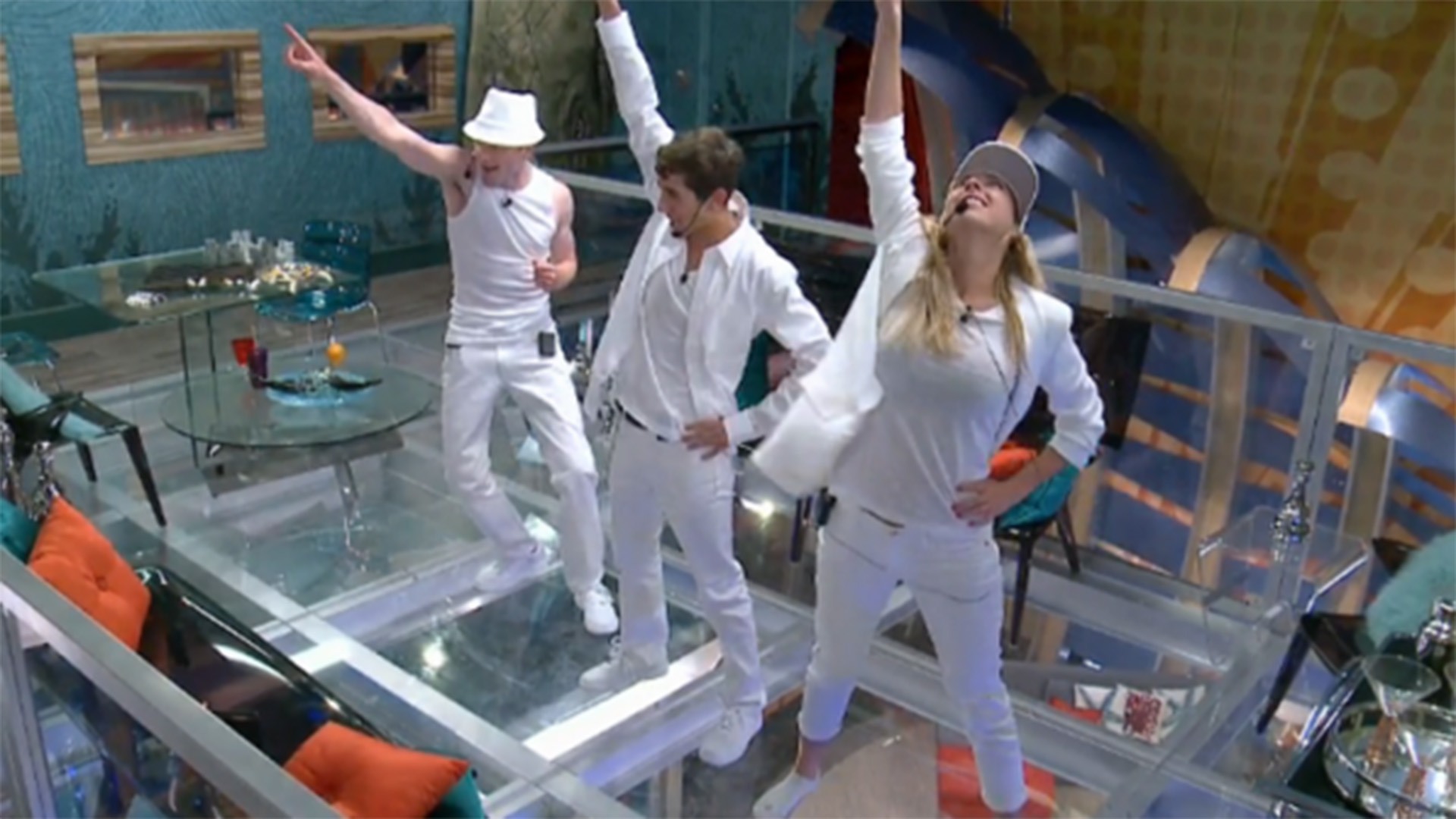 3. The Whackstreet Boys break out their first choreographed routine.