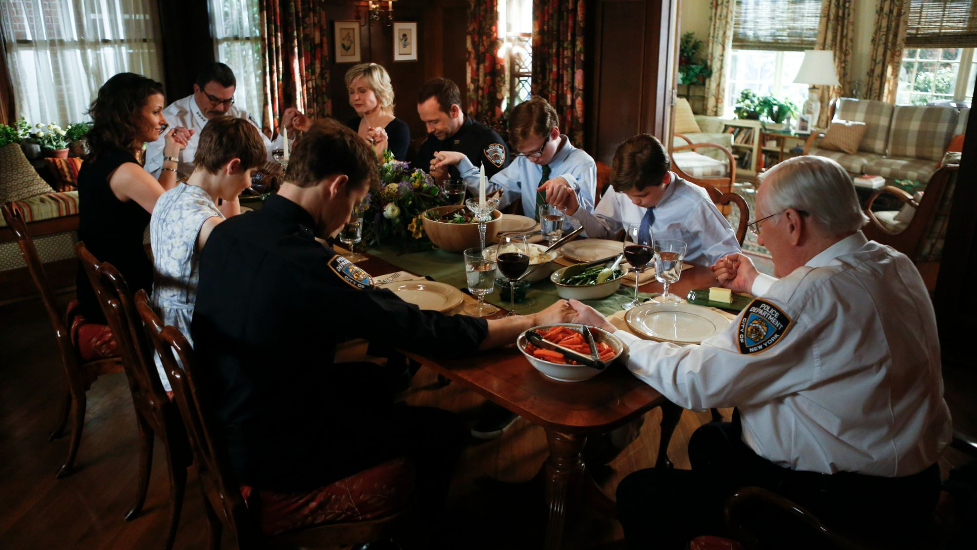 Image result for blue bloods sunday dinner