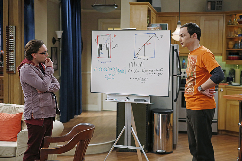 Have whiteboard equation battles.
