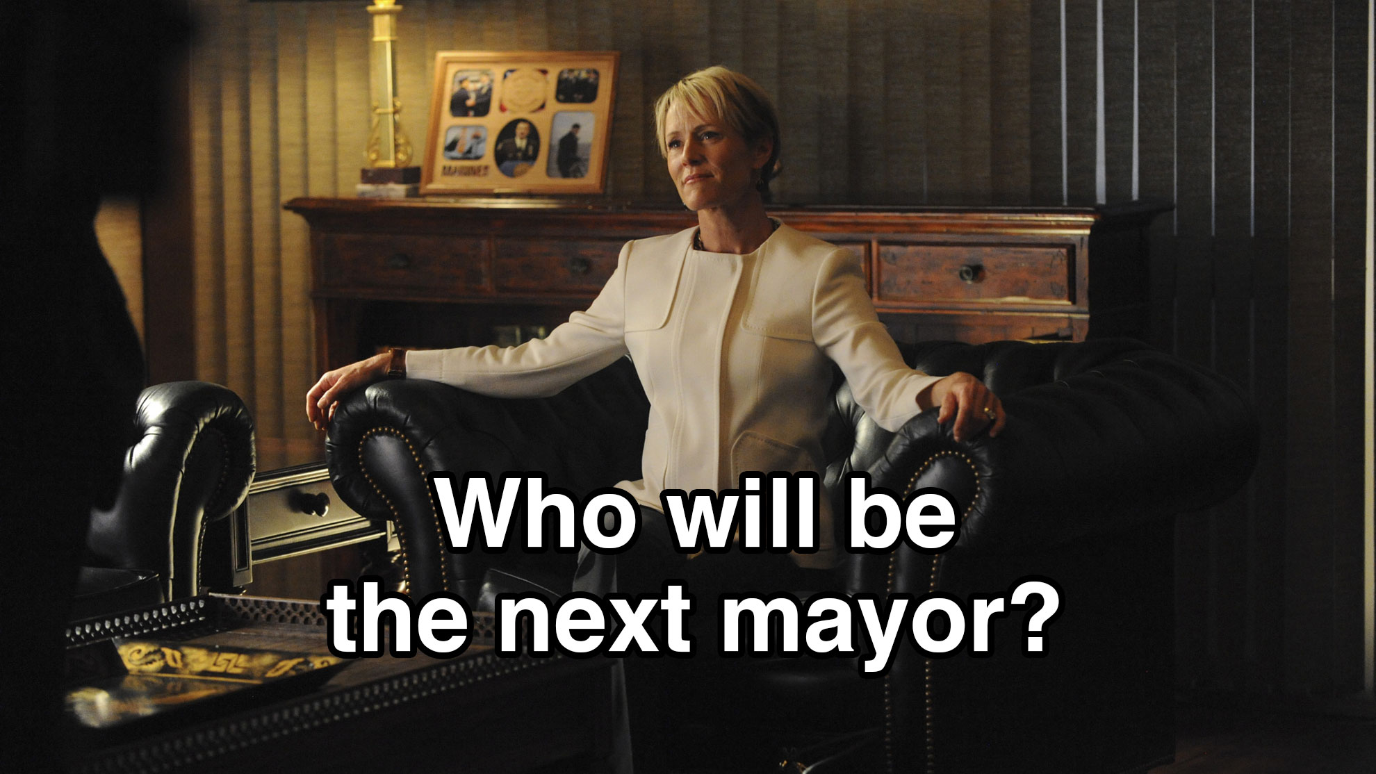 Who will be the next mayor?