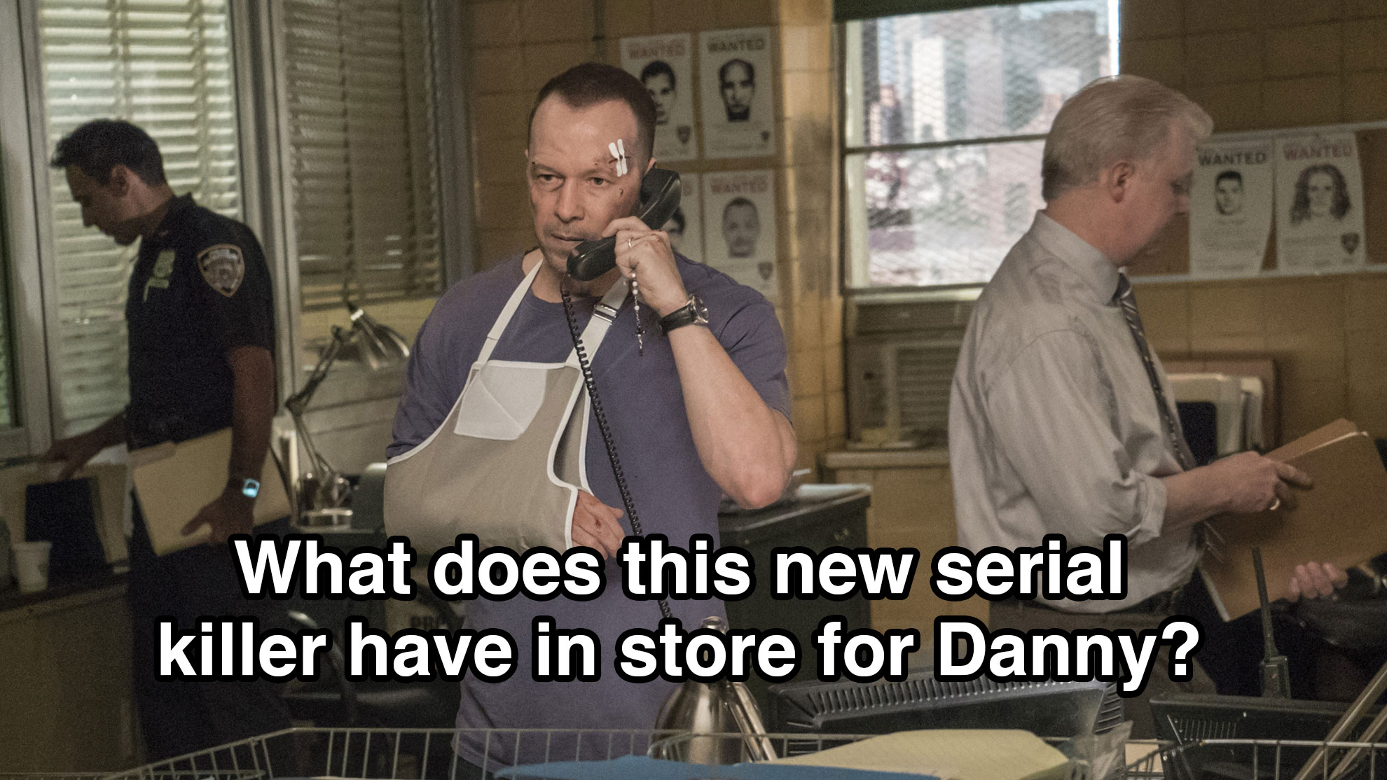 What does the new serial killer have in store for Danny?