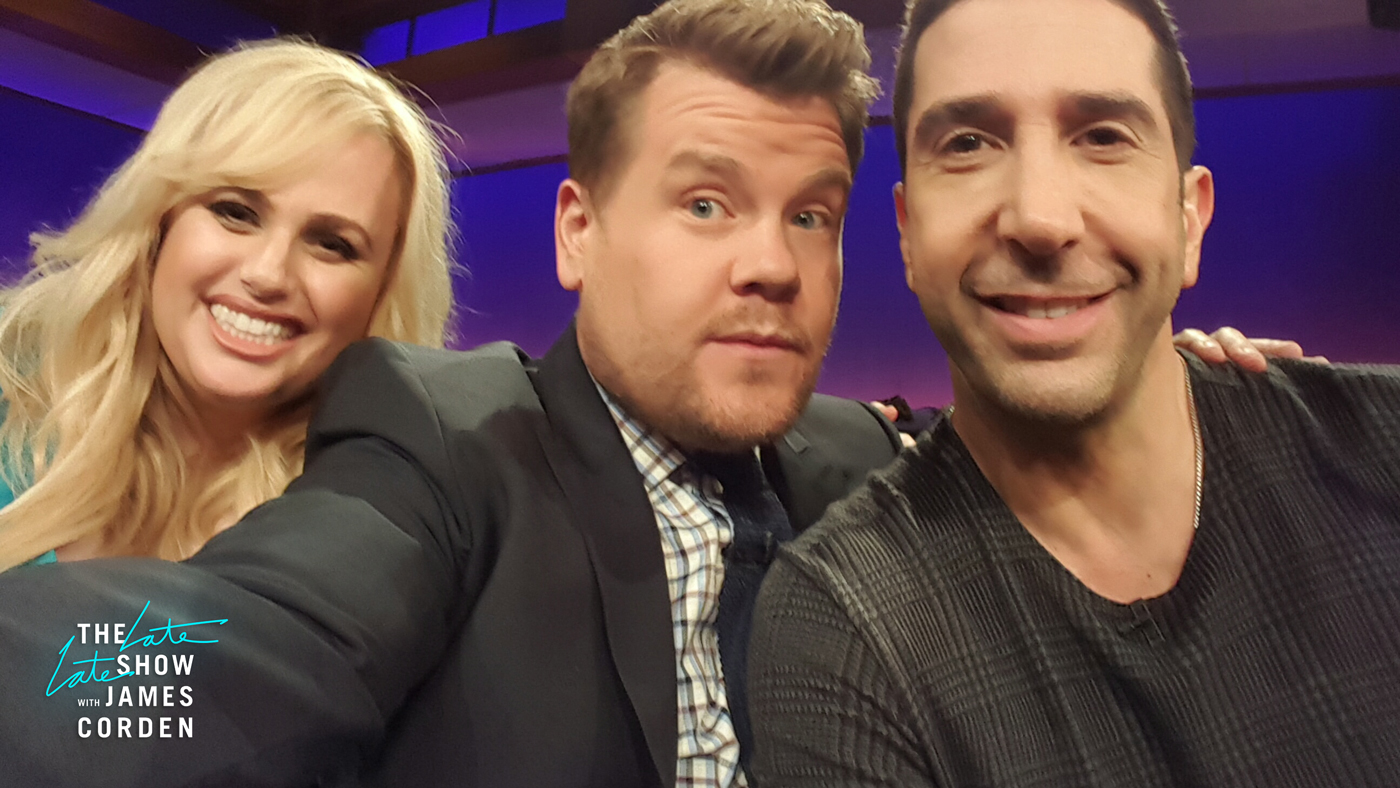 Rebel Wilson and David Schwimmer