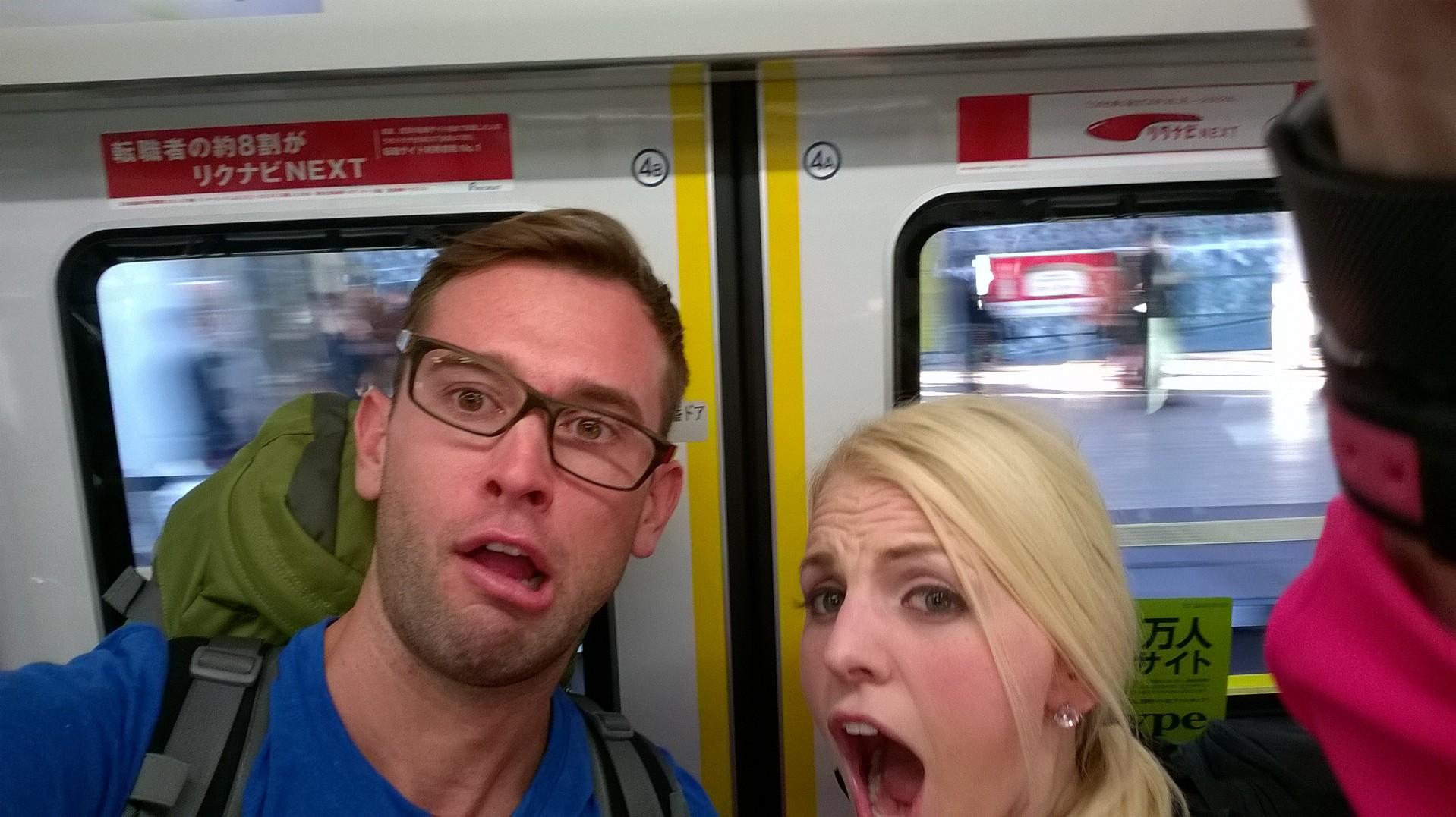 Blair & Hayley share a selfie