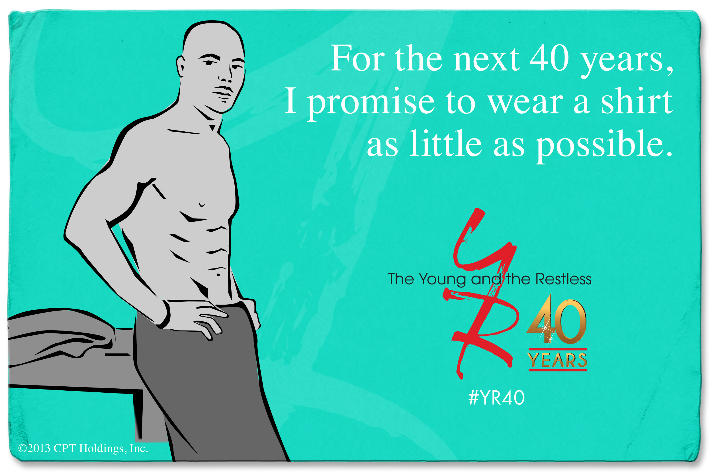 Shirtless Promise