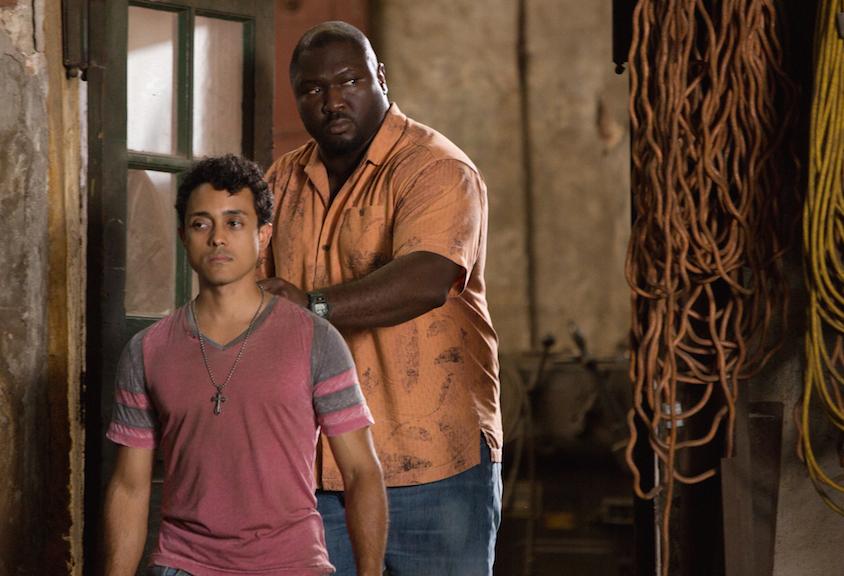 Alex Livinalli as a Rio gang member and Nonso Anozie as Abraham Kenyatta.