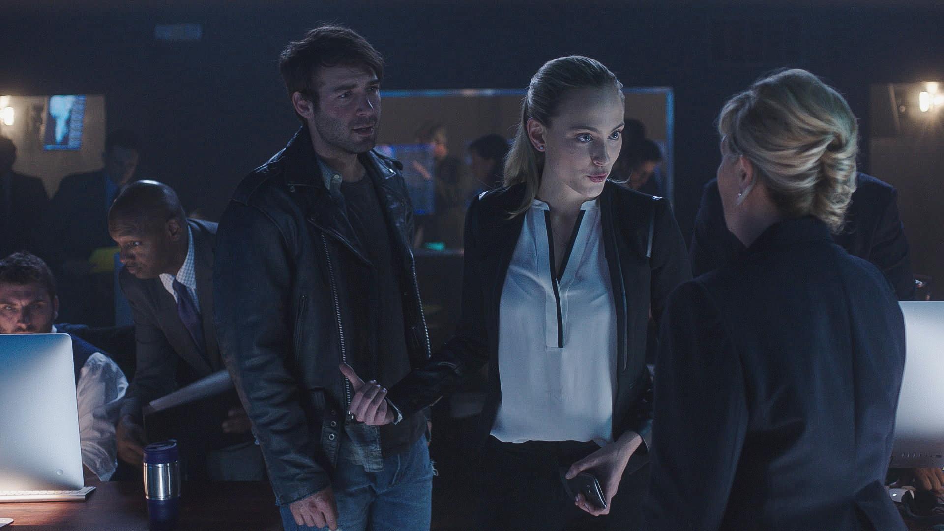 James Wolk as Jackson Oz and Nora Arnezeder as Chloe Tousignant.