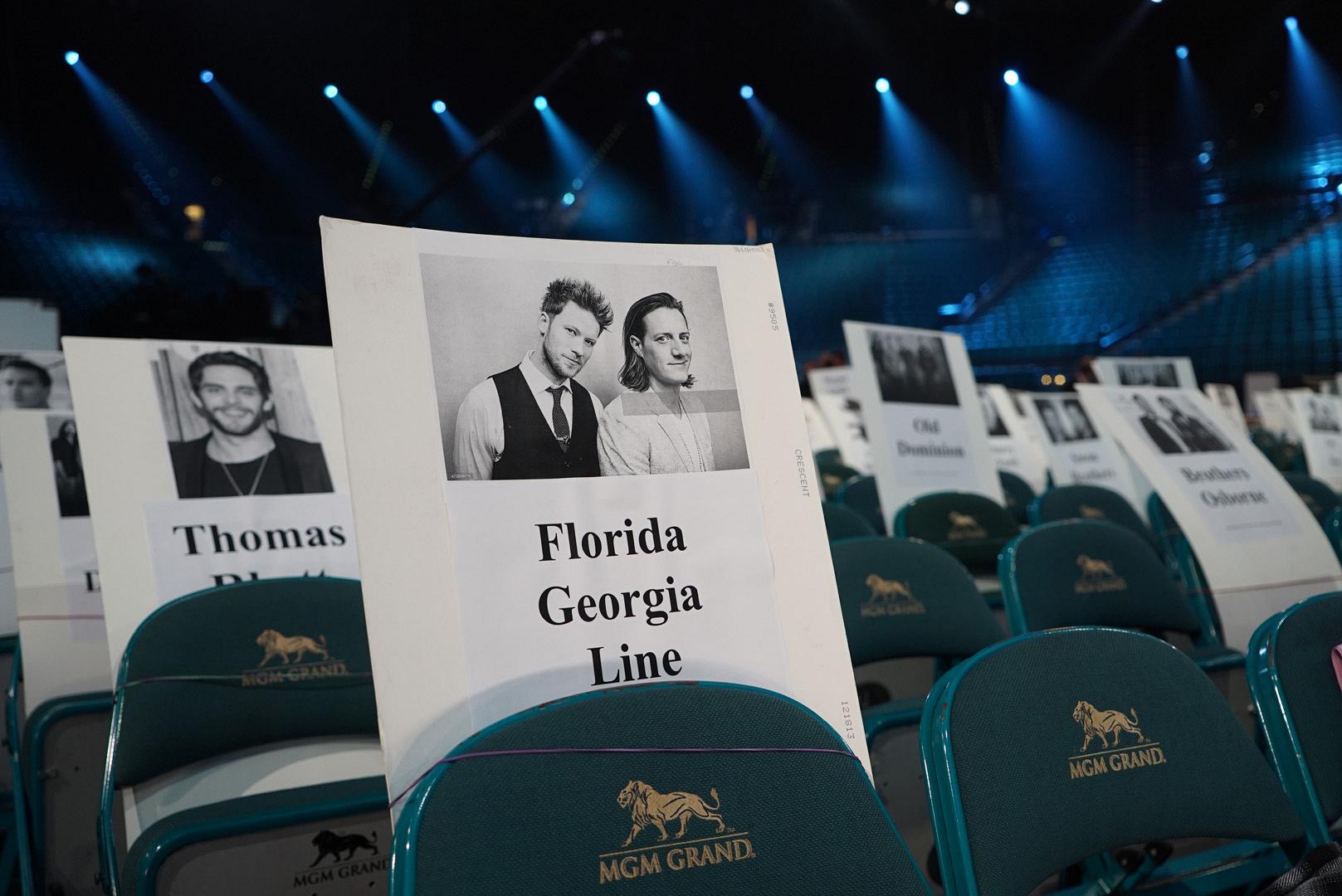 Thomas Rhett and Florida Georgia Line will be cheering from these seats.