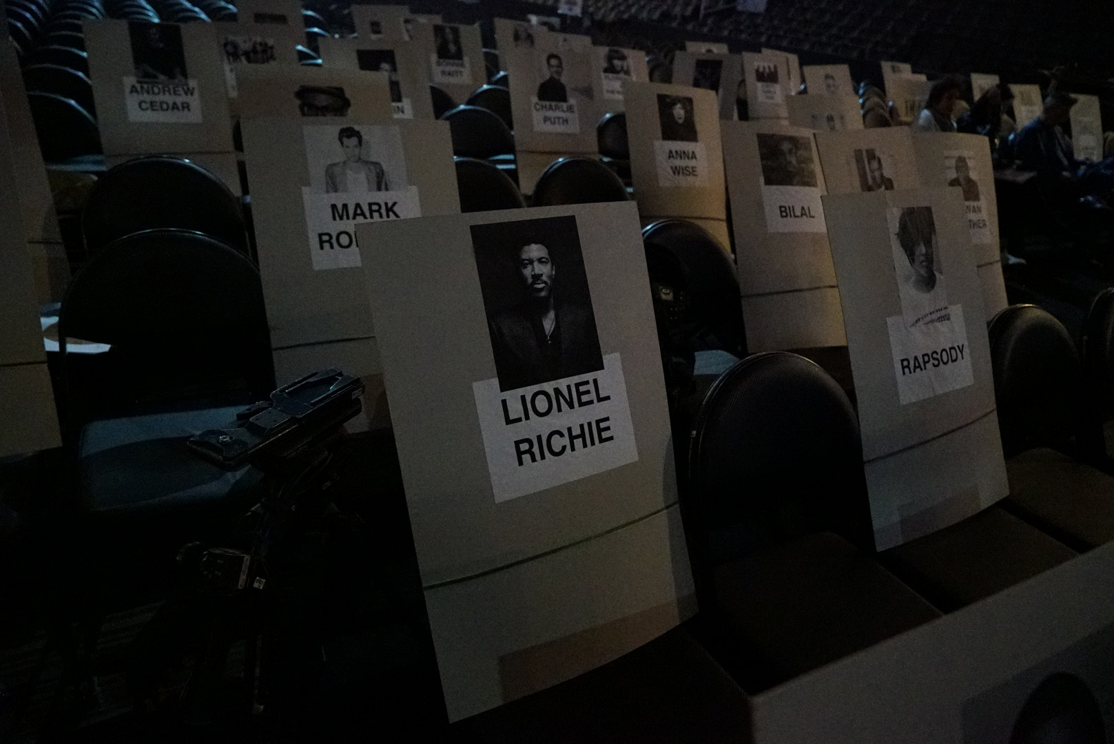 Mark Ronson, Lionel Richie, and Rapsody will be seated right next to each other at the GRAMMYs.