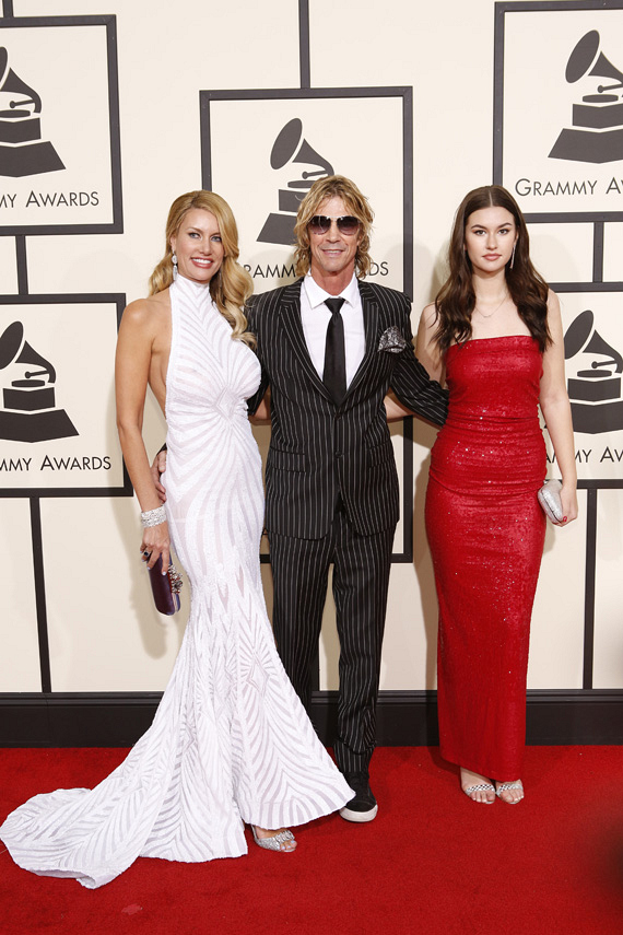 GRAMMYs 2016: Duff McKagan and guests