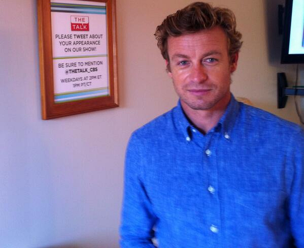 7. Simon Baker - Actor & Director