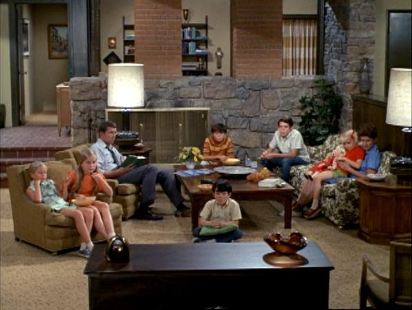 1. <i>The Brady Bunch's</i> couch