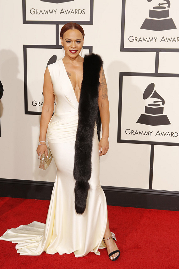 GRAMMYs 2016: Faith Evans