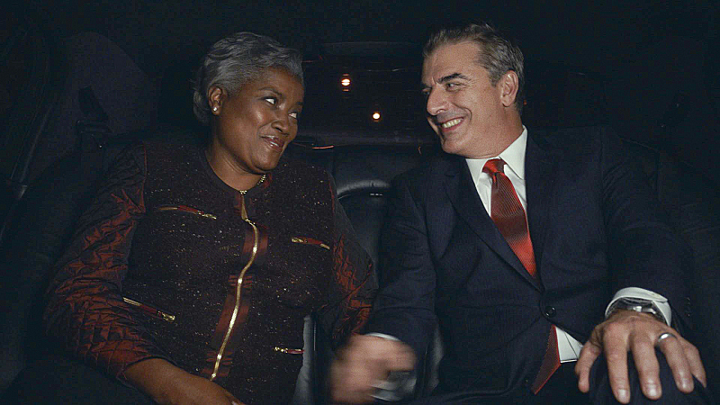 Democratic Political Strategist Donna Brazile as herself