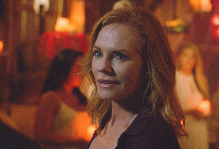 Marg Helgenberger as Christine.