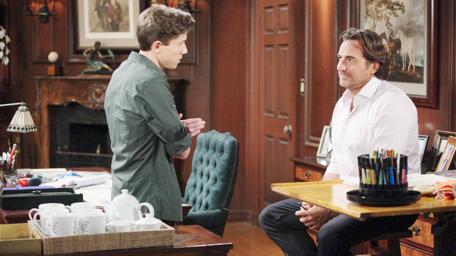 Ridge garners a new perspective when he learns of Brooke and Bill's current circumstance.
