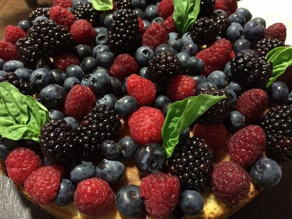13. Berry Upside-Down Cake - Chef David LeFevre