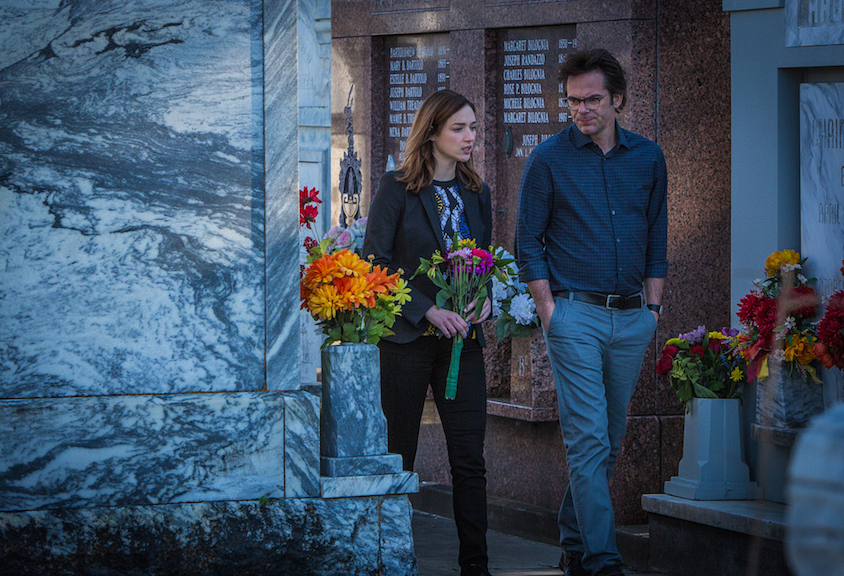 Kristen Connolly as Jamie Campbell and Billy Burke as Mitch Morgan.