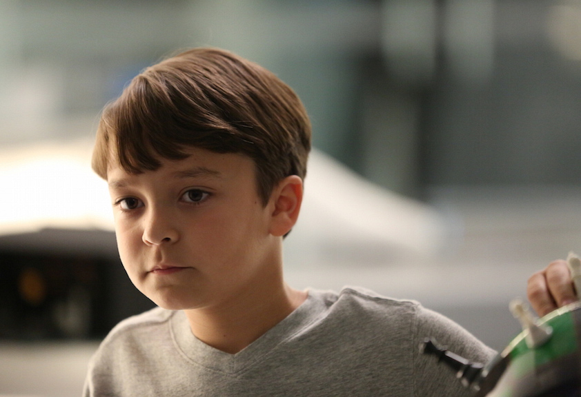 Pierce Gagnon as Ethan Woods.