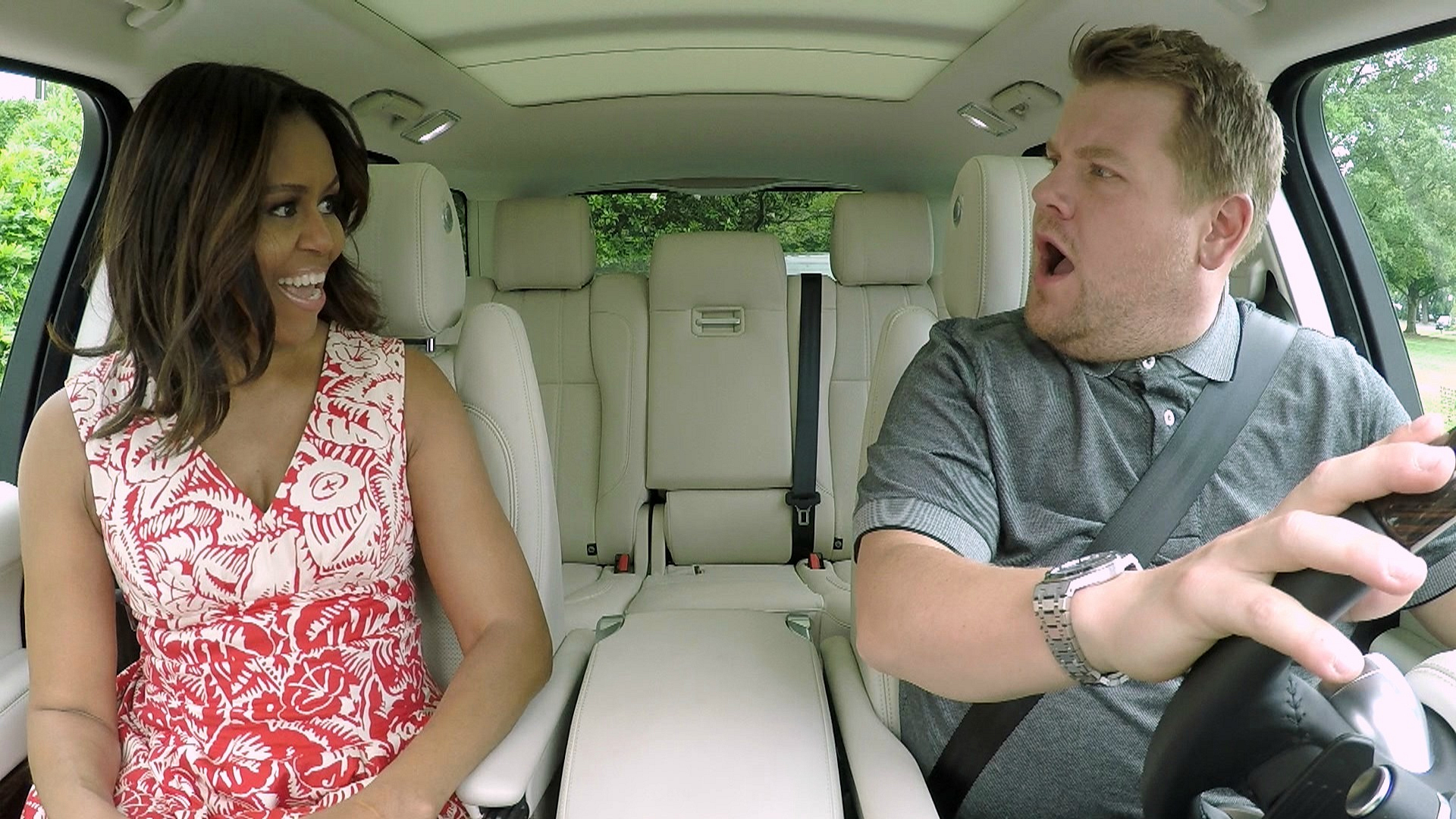 When she absolutely slayed Carpool Karaoke on The Late Late Show
