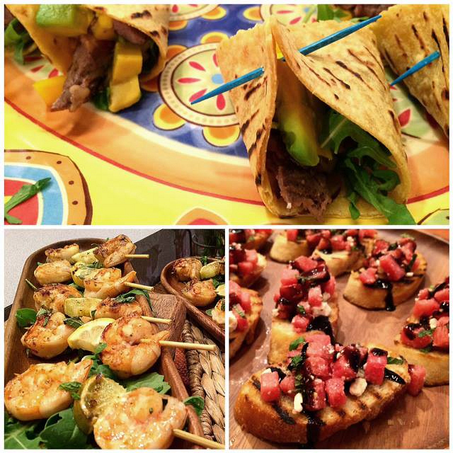 21. Hors d'Oeuvres - Chef David Tutera