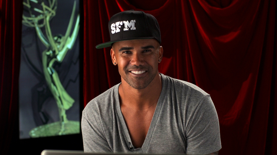 Shemar Moore knows a hat is key to reppin' his brand.