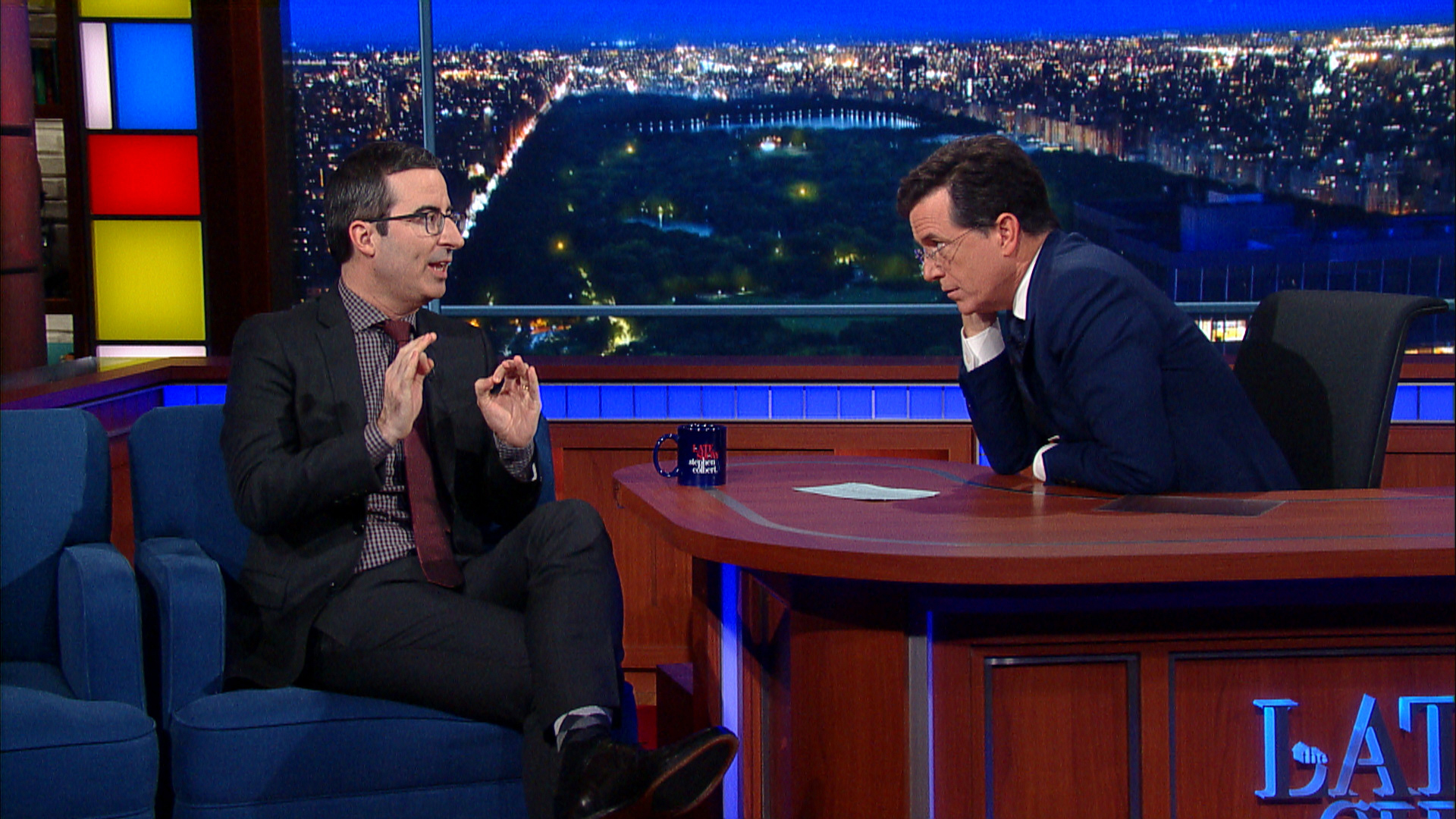John Oliver Doesn't Care About Donald Trump
