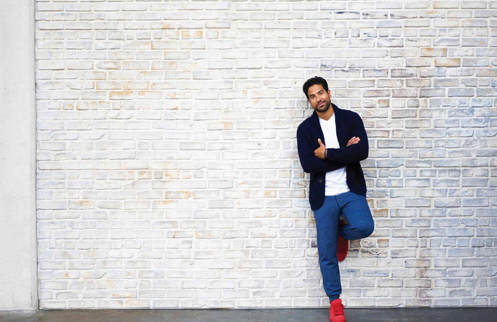 Adam Rodriguez, especially when he makes casual look haute