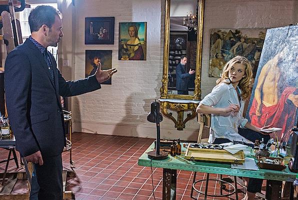 Sherlock and Irene Adler (Elementary)
