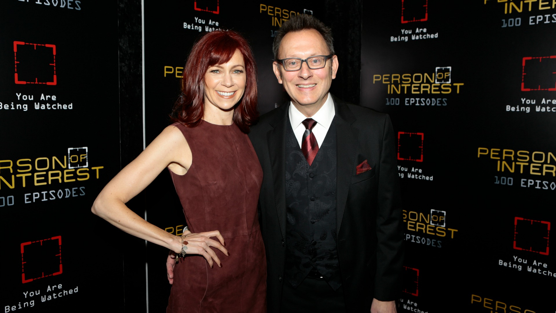 Michael Emerson and his wife, Carrie Preston, were picture perfect.